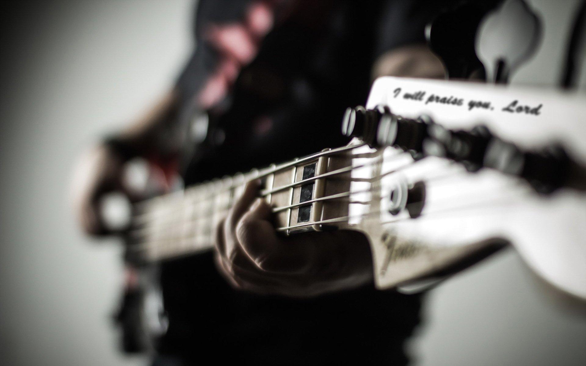 Bass Guitar Wallpaper Download 1920x1200