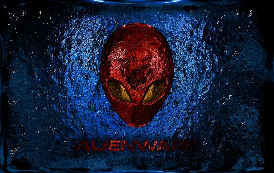 alienware desktop background red - photo #15