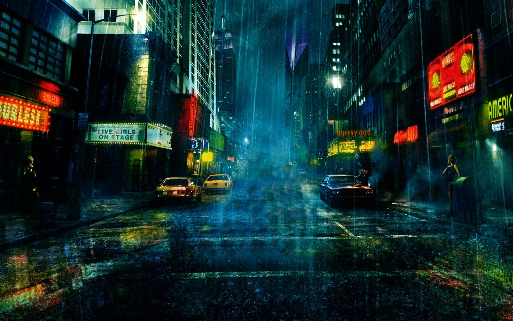 Raining Hd Wallpapers Wallpapersafari