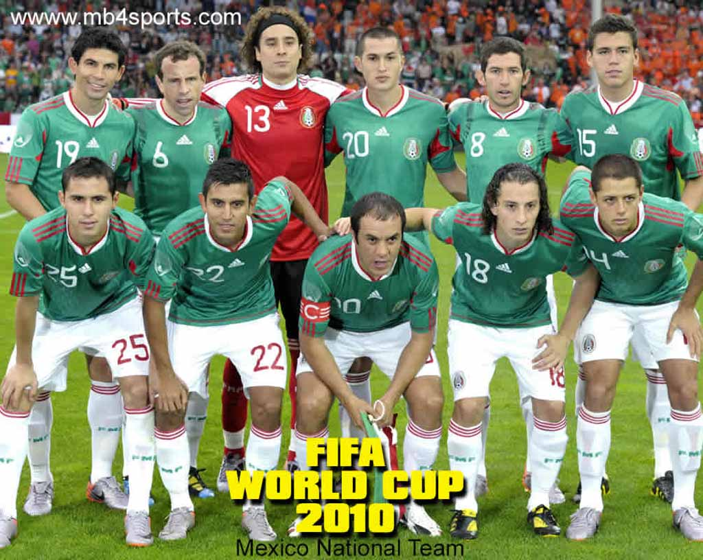 Mexico Soccer Team 2015 Wallpapers 1024x816