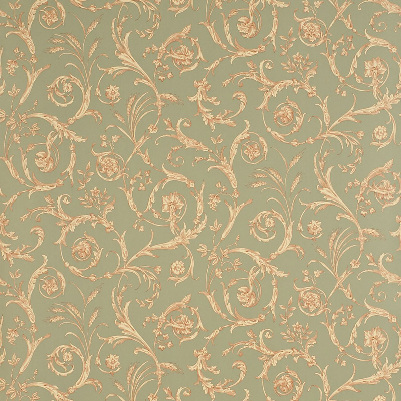 Sanderson Scroll Co ordinate DEGTSC104 GreyRedBeige wallpaper from 800x800