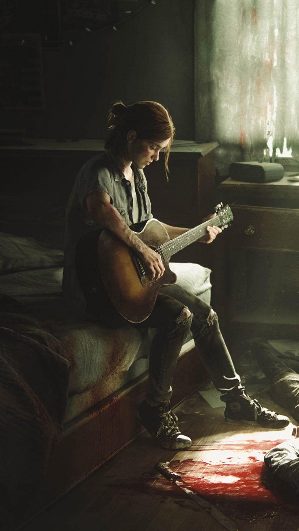 Ellie The Last of Us II Psteres de filmes Papis de parede de 950x1689