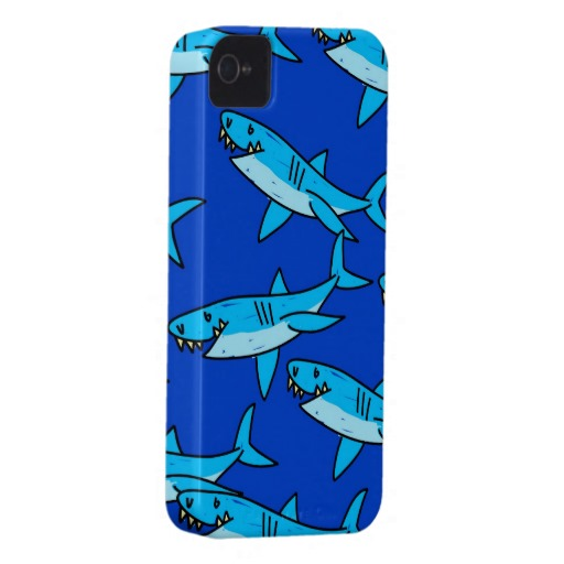 Shark Wallpaper iPhone 4 Case Mate Case Zazzle 512x512