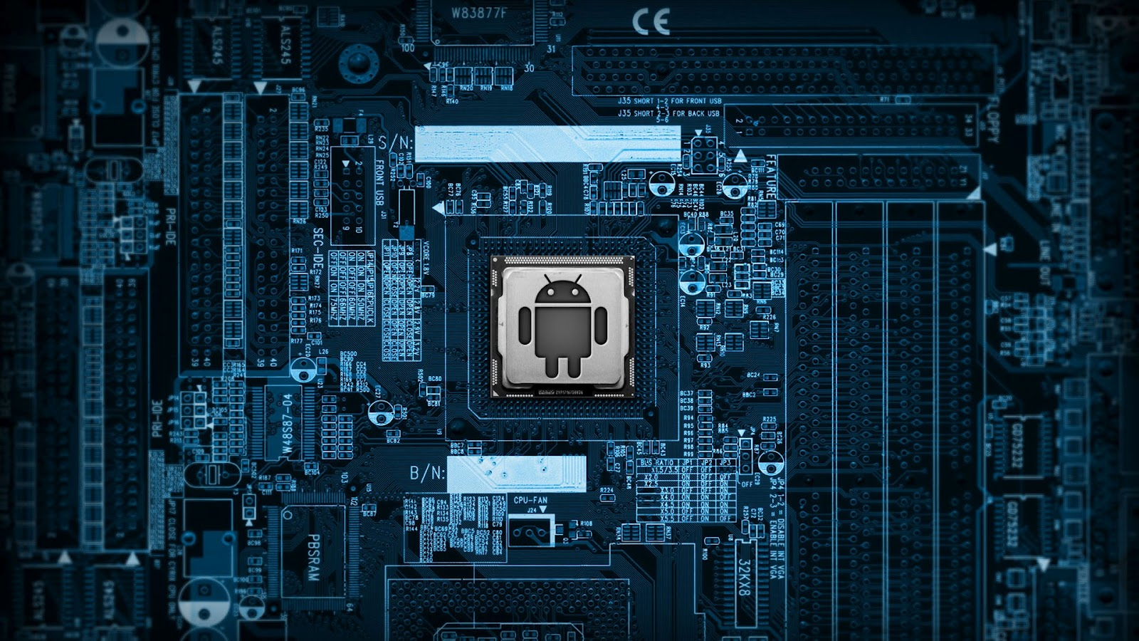 Live Android Tablet Chip Wallpapers 1600x900