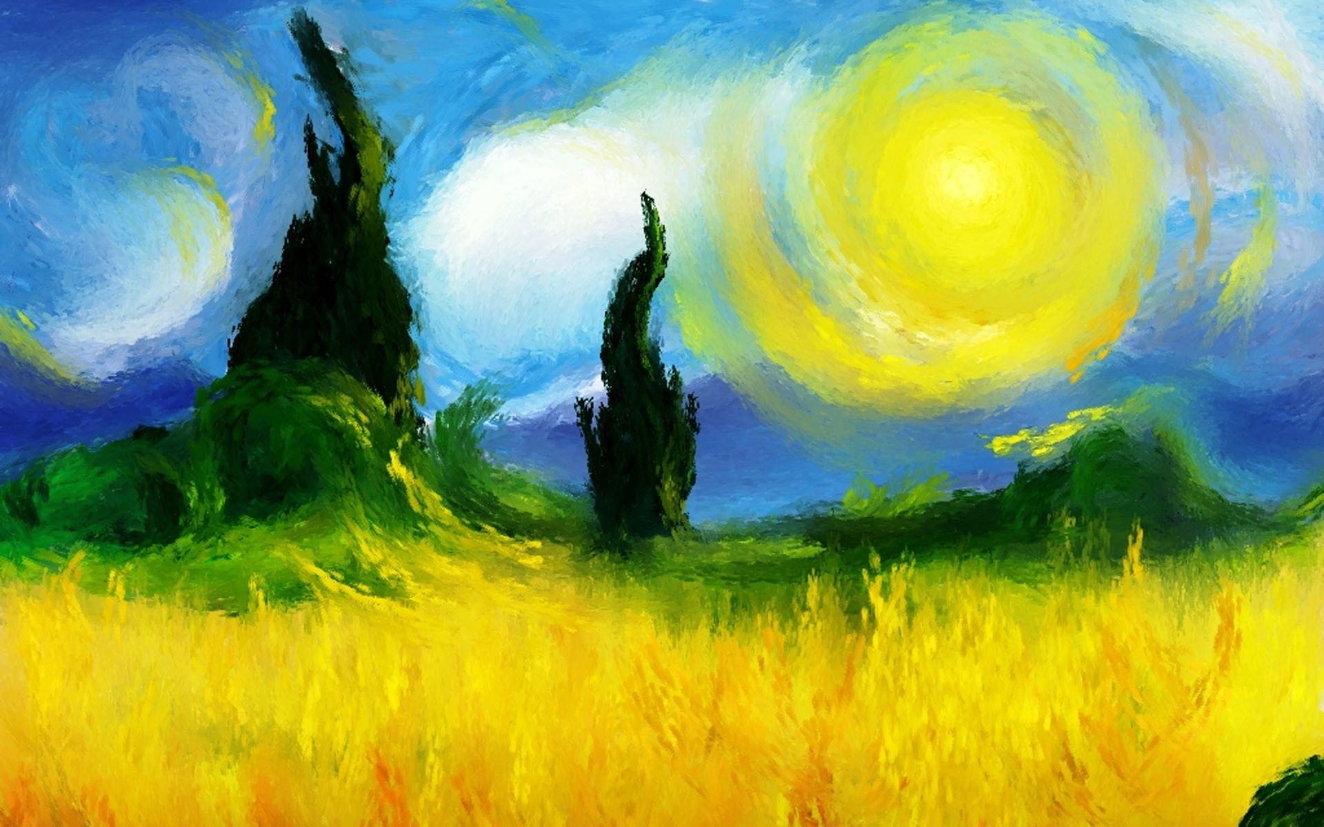 Impressionist Wallpaper 1920x1200