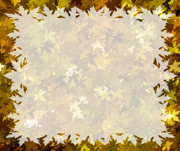 Autumn Leaves Wallpaper Border Of fall or autumn leaves 600x504