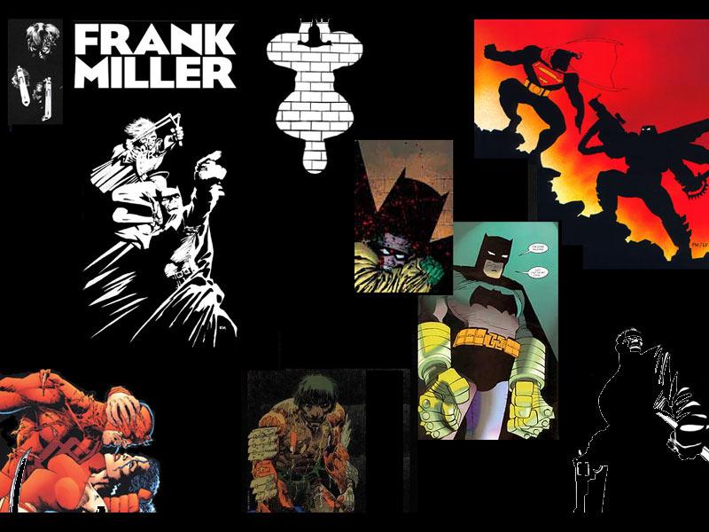 Frank Miller Wallpaper Frank miller batman 800x600