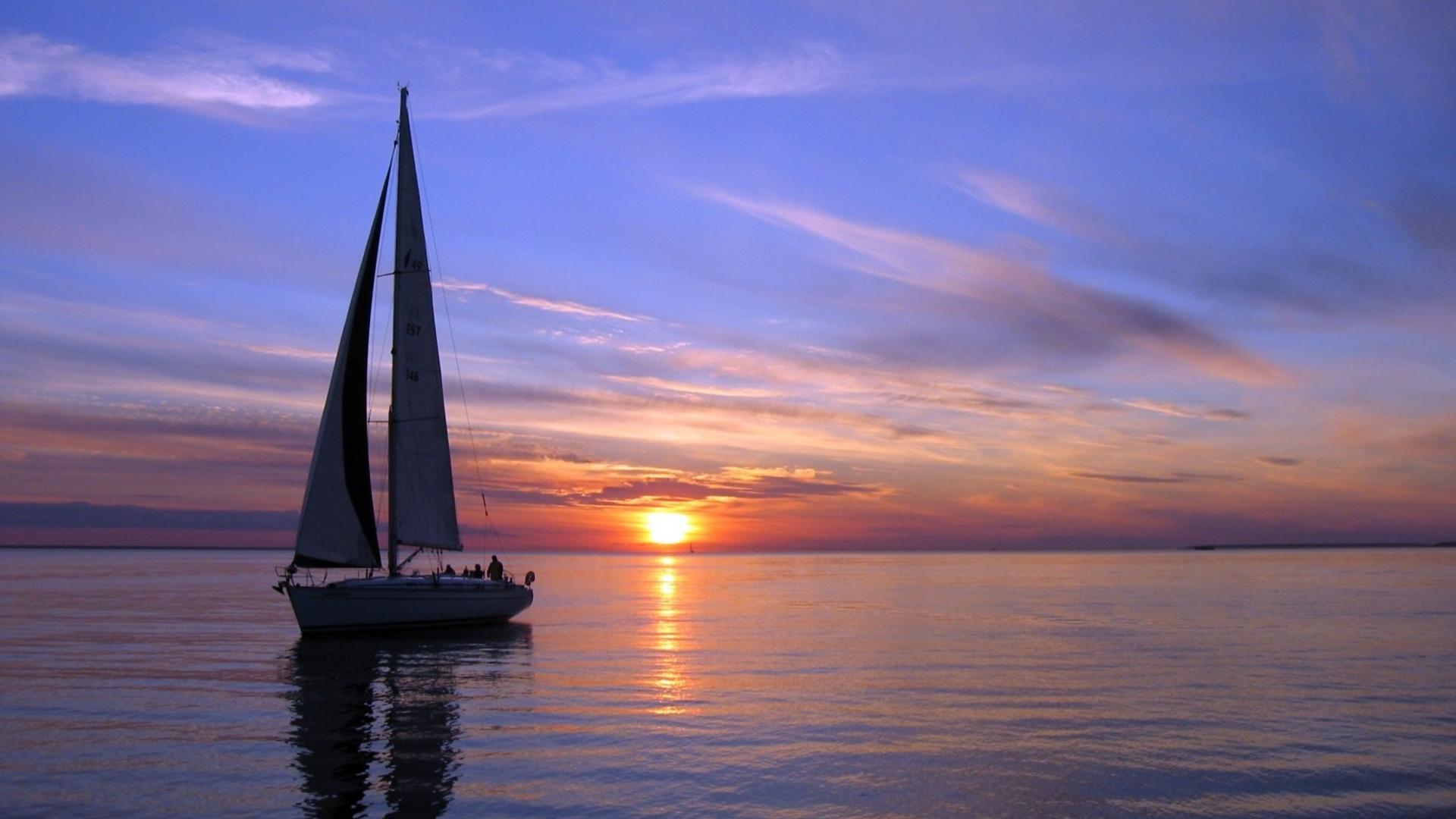 Sunset Sailing Myrtle Beach