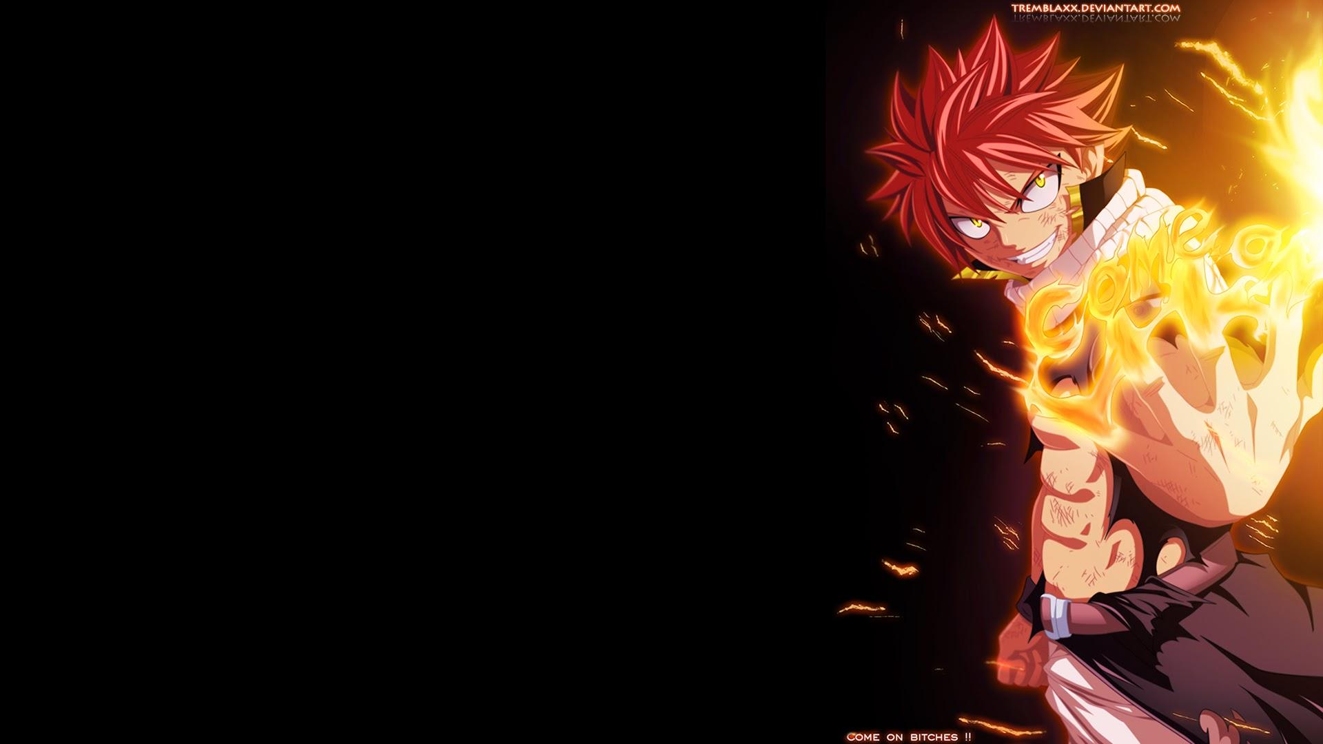 Fairy Tail Anime Natsu 8p Wallpaper HD 1920x1080