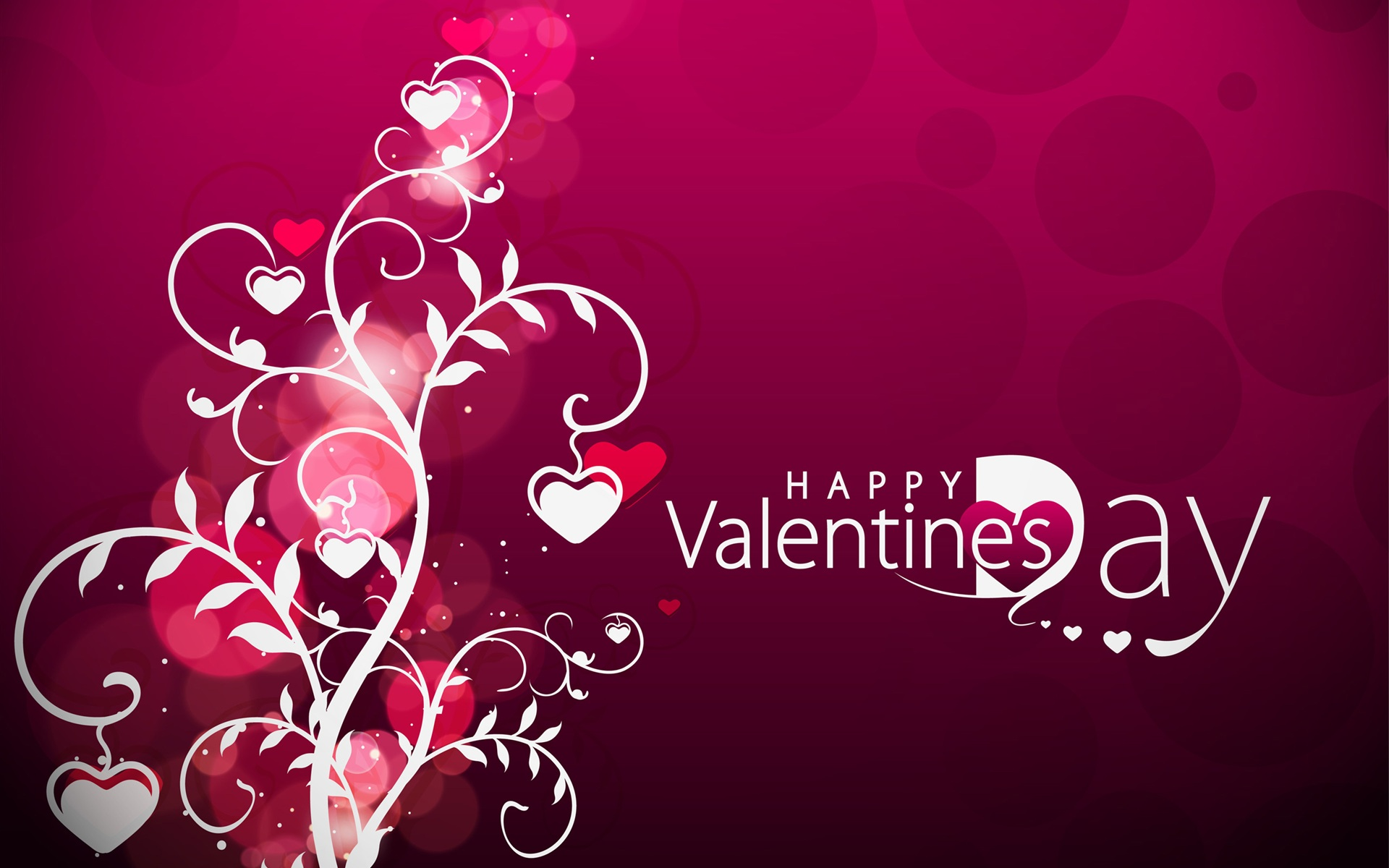 Wallpaper Vector Valentines Day hearts 2560x1920 HD Picture Image 1920x1200
