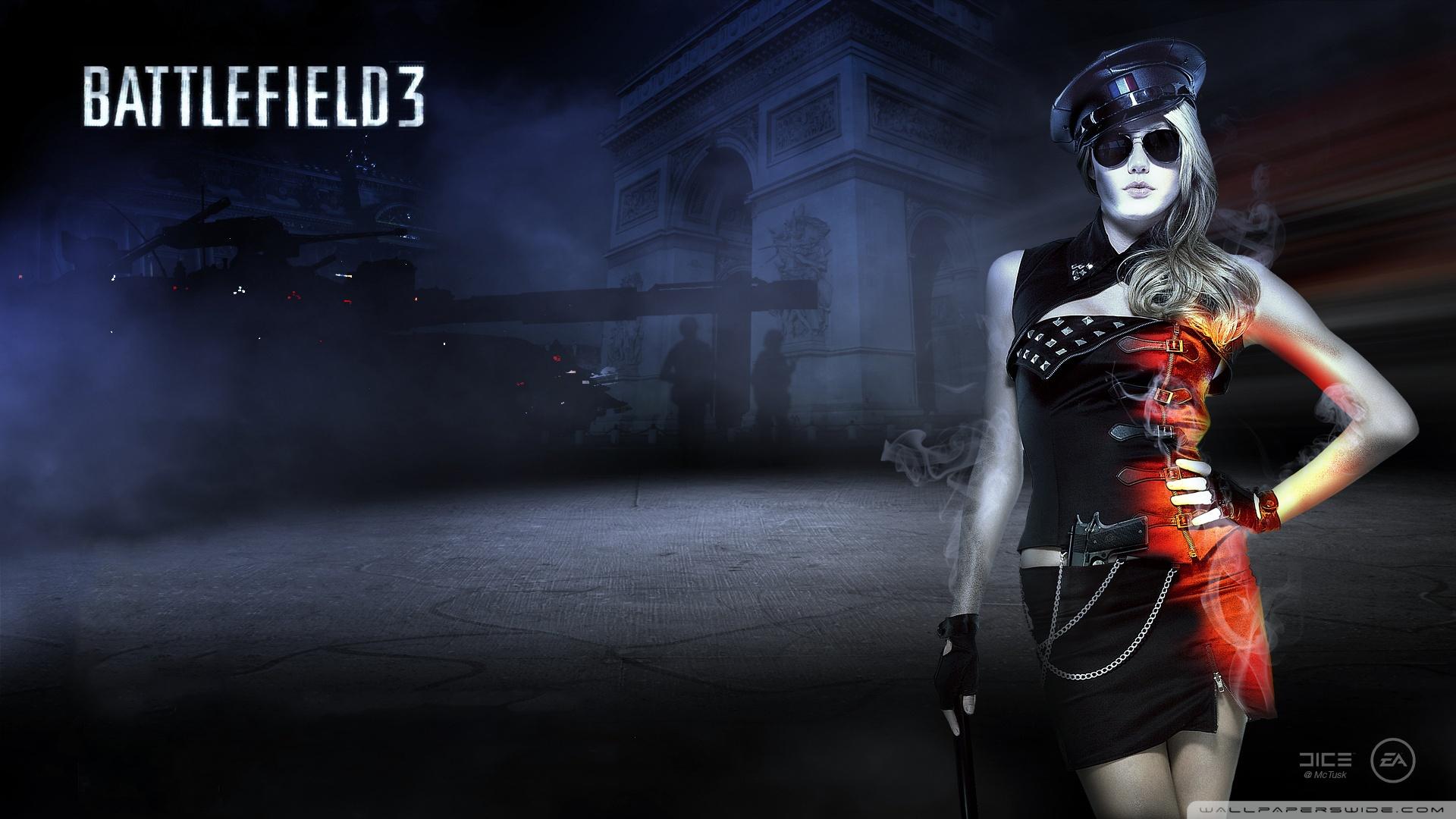 Battlefield 3 Girl Wallpaper 1920x1080 Battlefield 3 Girl 1920x1080