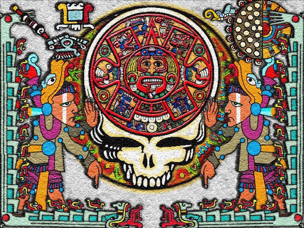 The Grateful Dead Skull Wallpaper   Wide Wallpapers 1024x768
