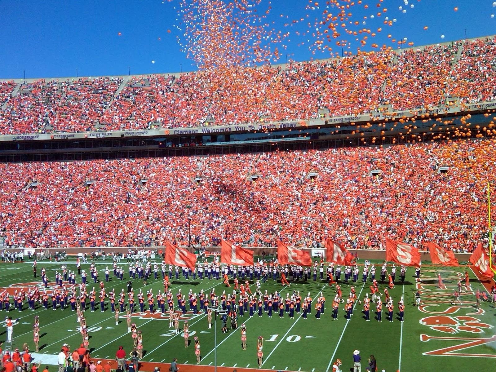 72 Clemson University Memorial Stadium Death Valley Clemson SC 1600x1200