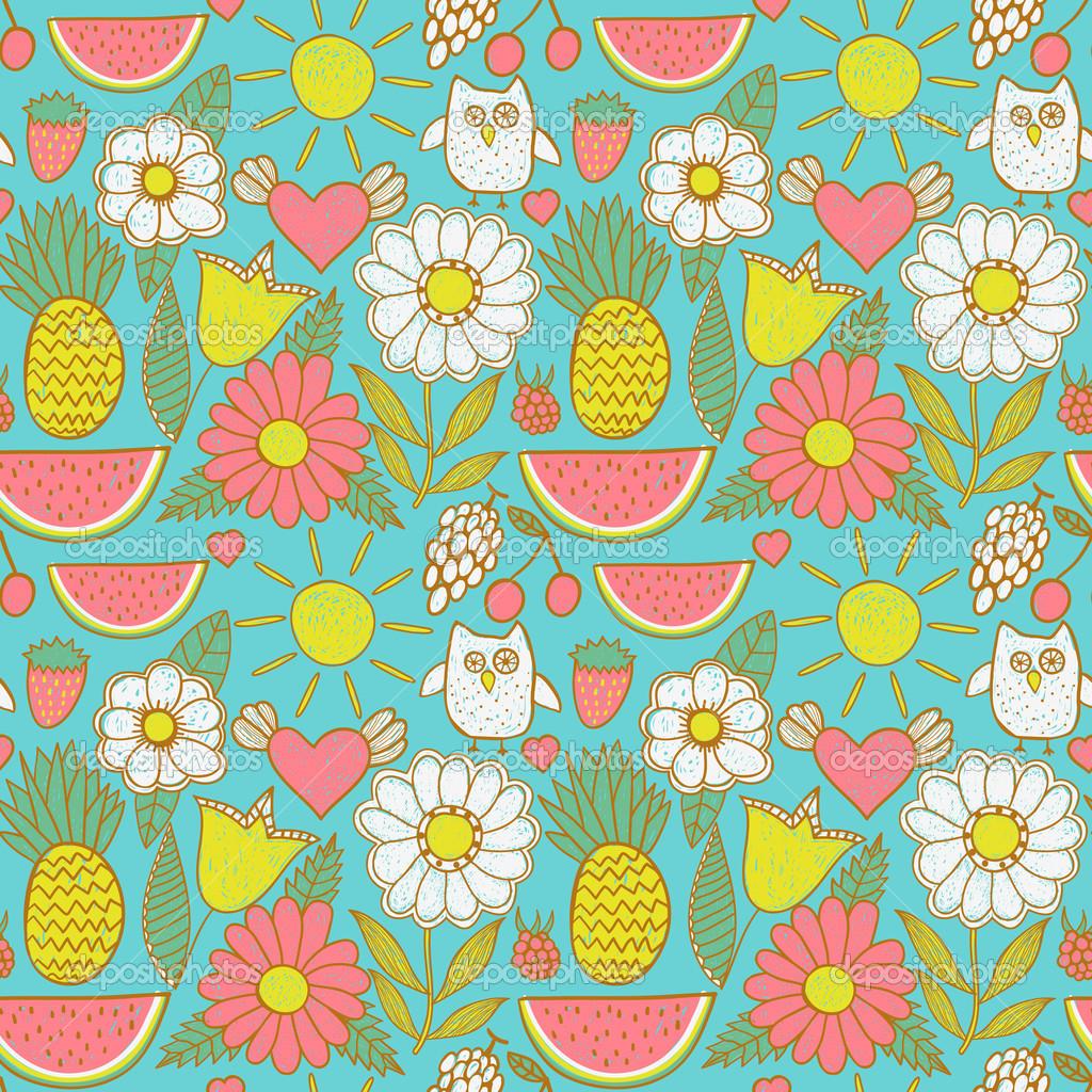 Twitter Backgrounds Cute Pattern 1024x1024