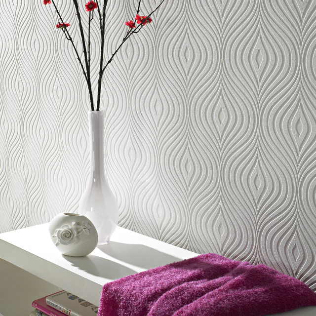 Paintable wallpaper   Contemporary   Wallpaper   by Graham Brown 640x640