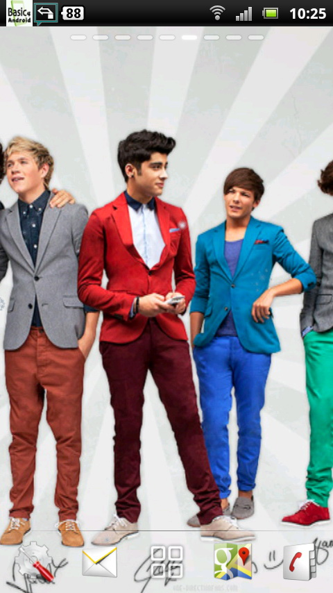Download One Direction Live Wallpaper 1 for your Android phone 480x854