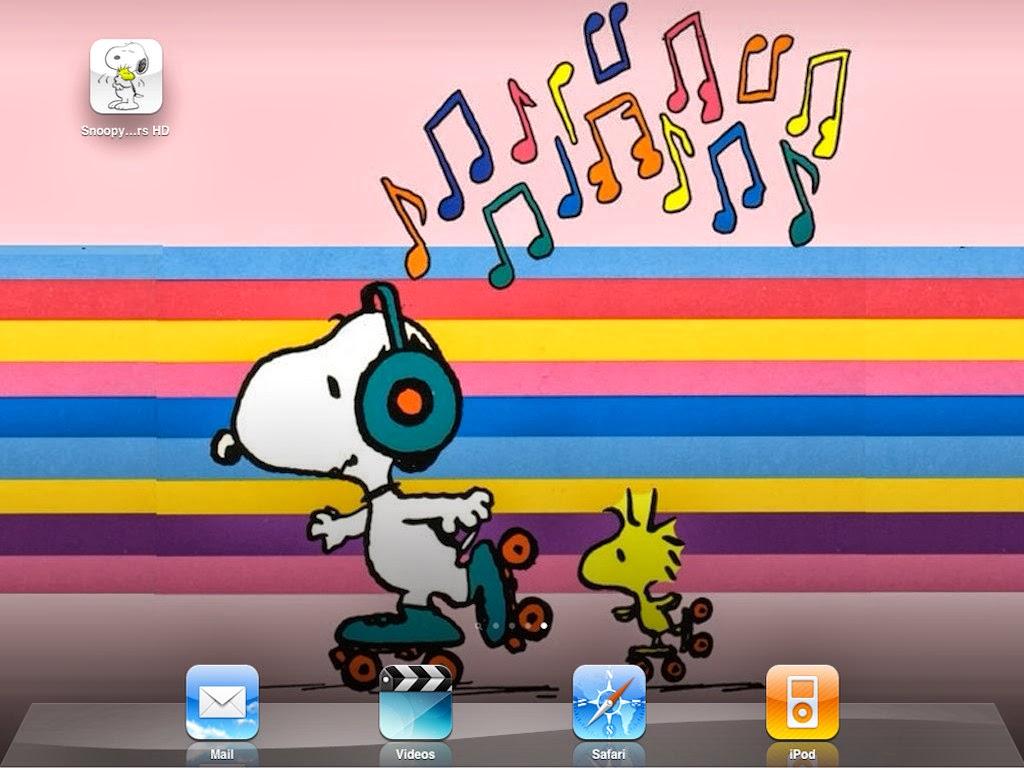 Snoopy Valentine 1024x768