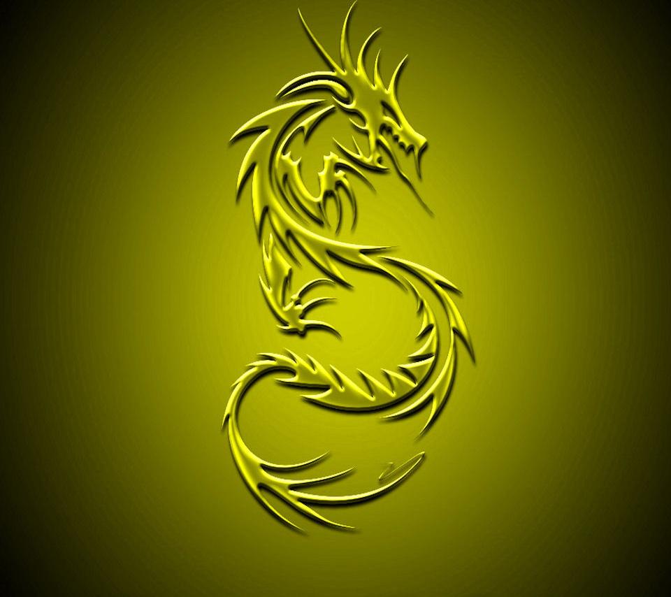 free 960X854 Yellow Dragon 960x854 wallpaper screensaver preview id 960x854