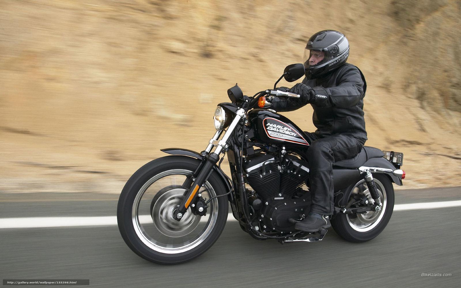 Download wallpaper Harley Davidson Sportster XL 883 R Sportster XL 1600x1000