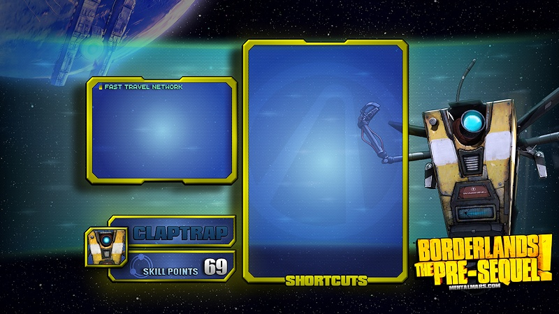 BLTPS   Claptrap Skill Tree Wallpaper   MentalMars 800x450