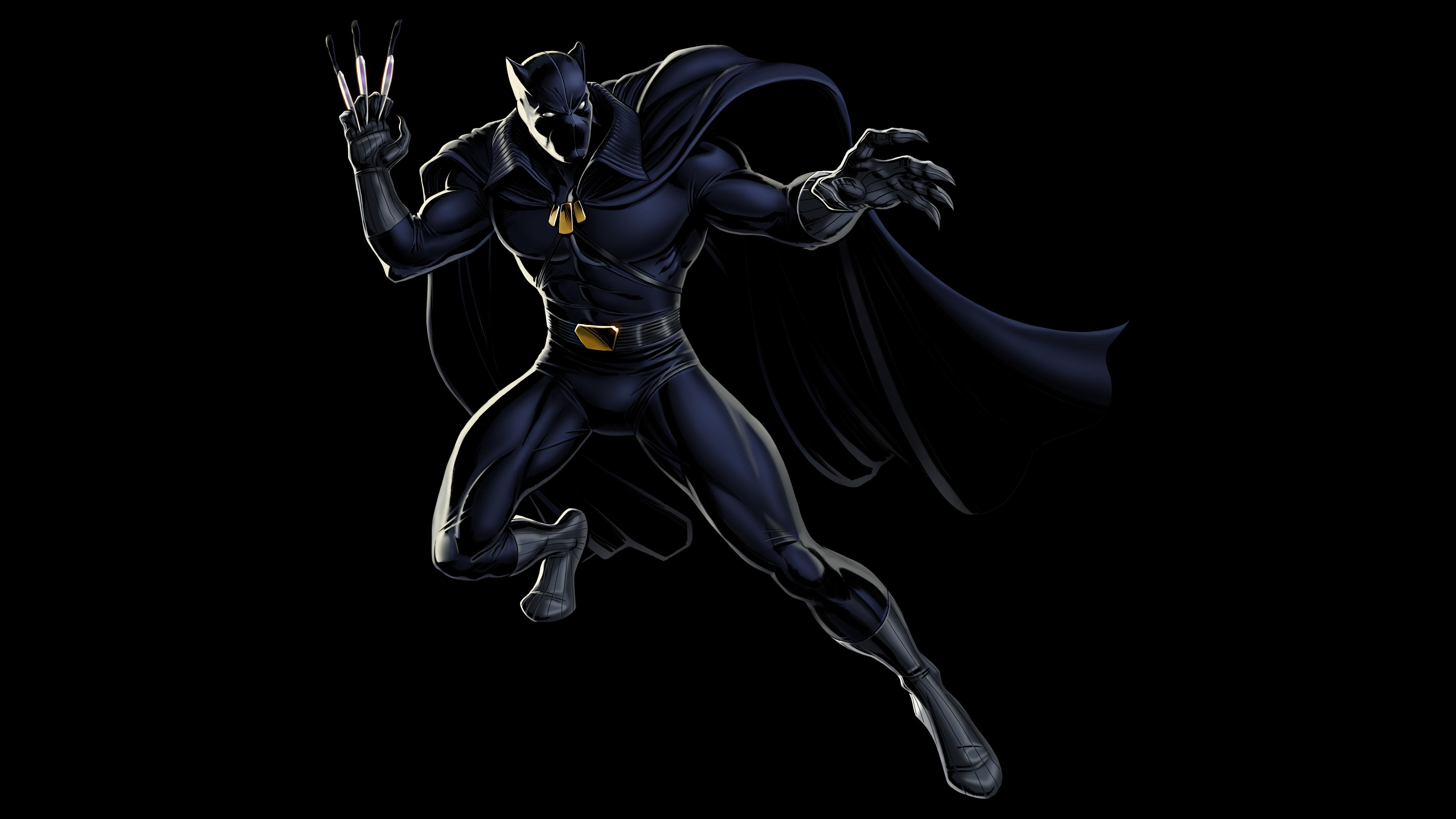 Black Panther Wallpaper Mobile T Pantera Negra Cmics
