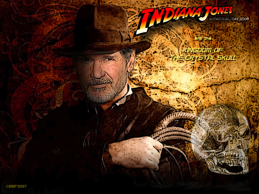 Download Indiana Jones wallpaper Indiana jones 4 1024x768