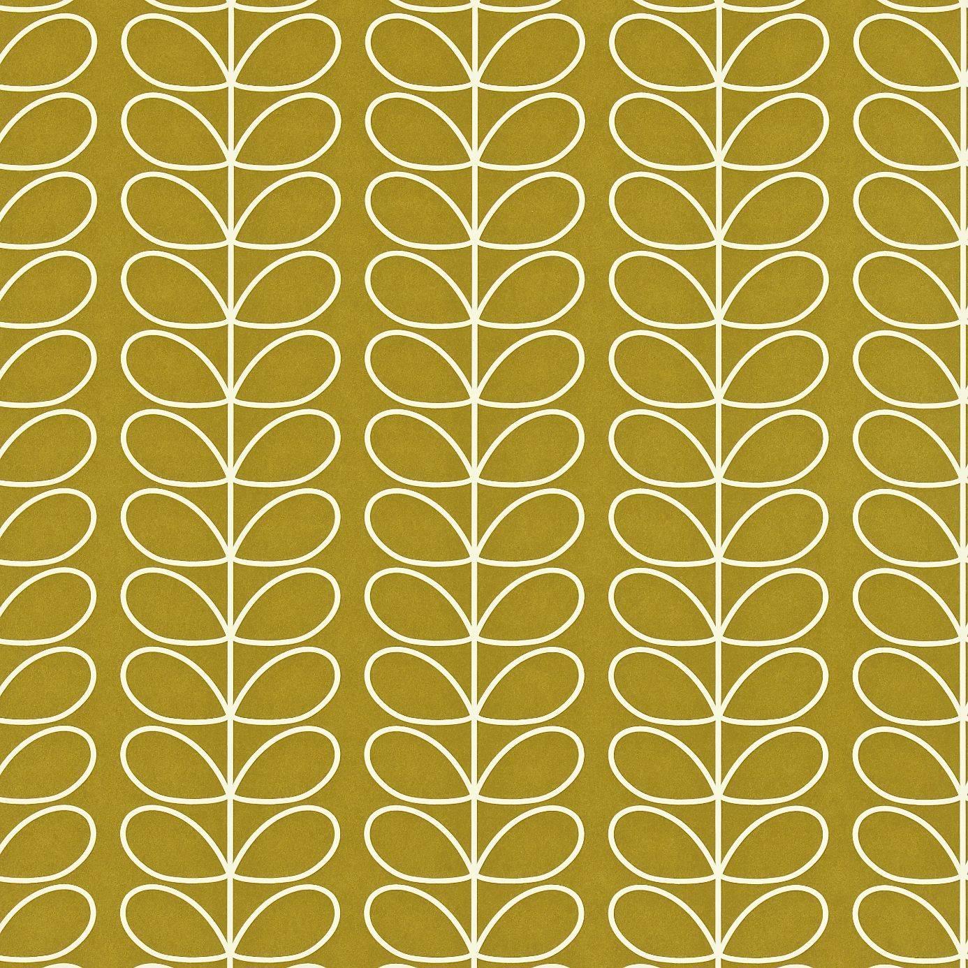 Linear Stem Wallpaper   Olive 110401   Harlequin Orla 1386x1386