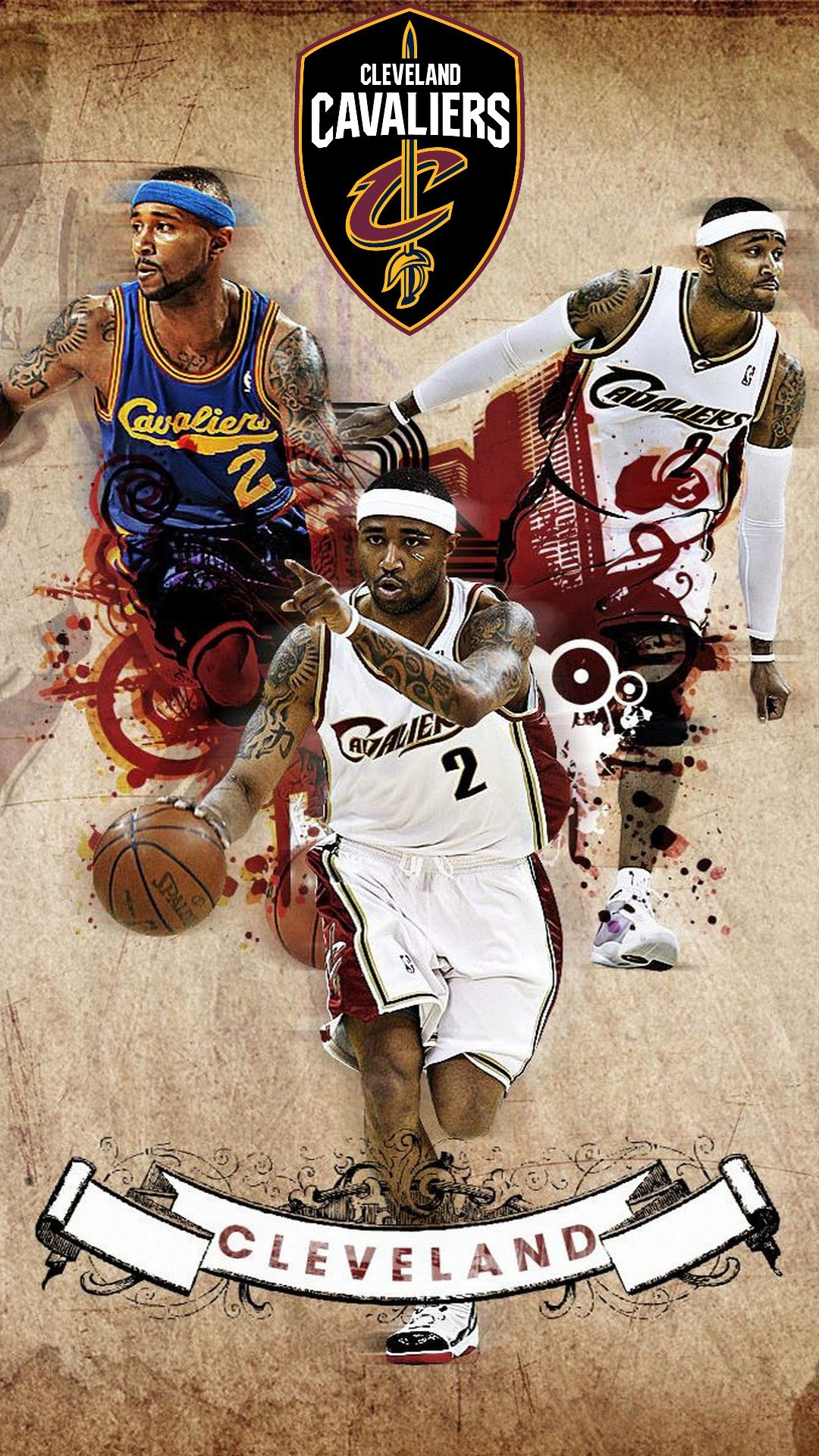 Cleveland Cavaliers NBA Wallpaper For Mobile Nba wallpapers 1080x1920