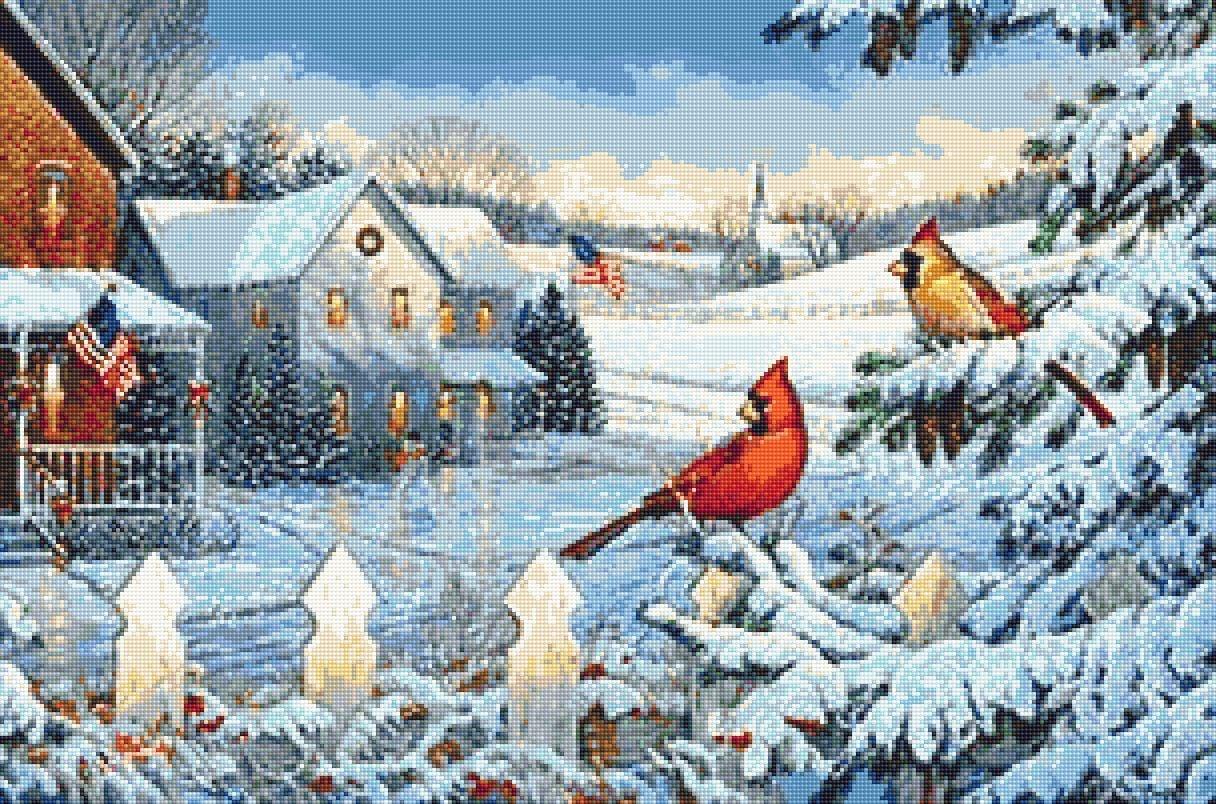 Christmas 131 A Patriotic Christmas painter Sam Timm   Shop online 1216x804