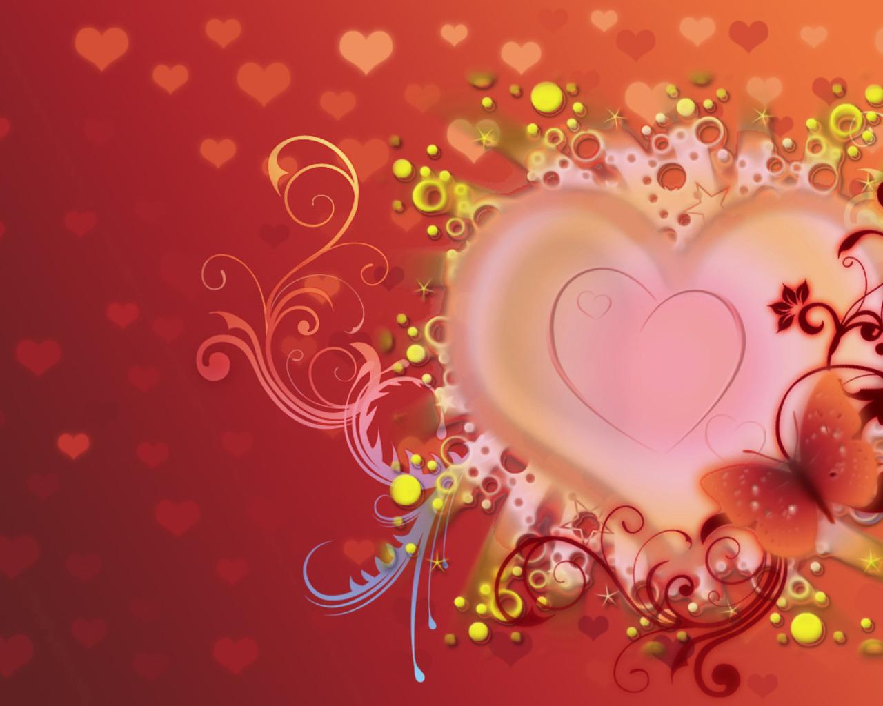 Valentine Desktop Wallpaper 1280x1024