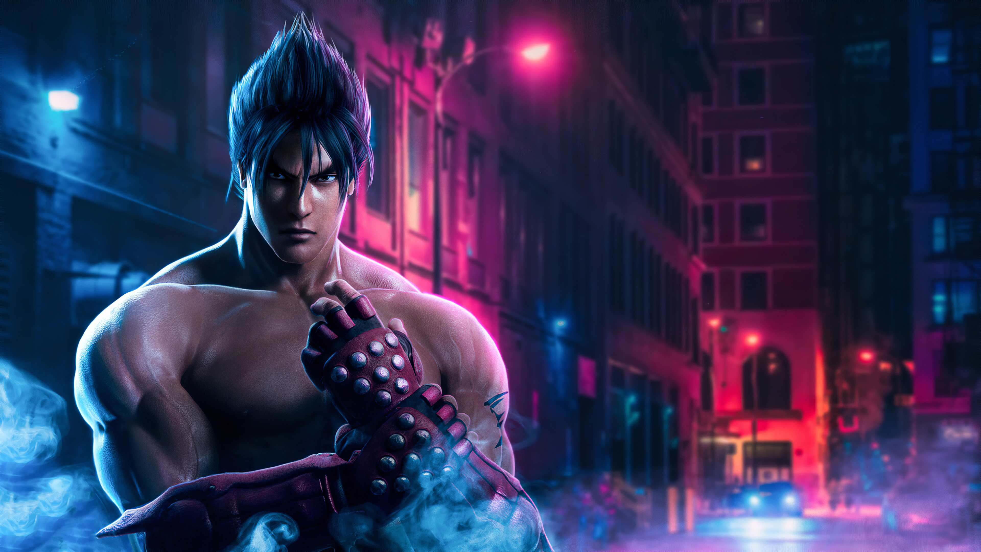 Jin Kazama Tekken 7 Wallpaper HD Games 4K Wallpapers Images 3840x2160