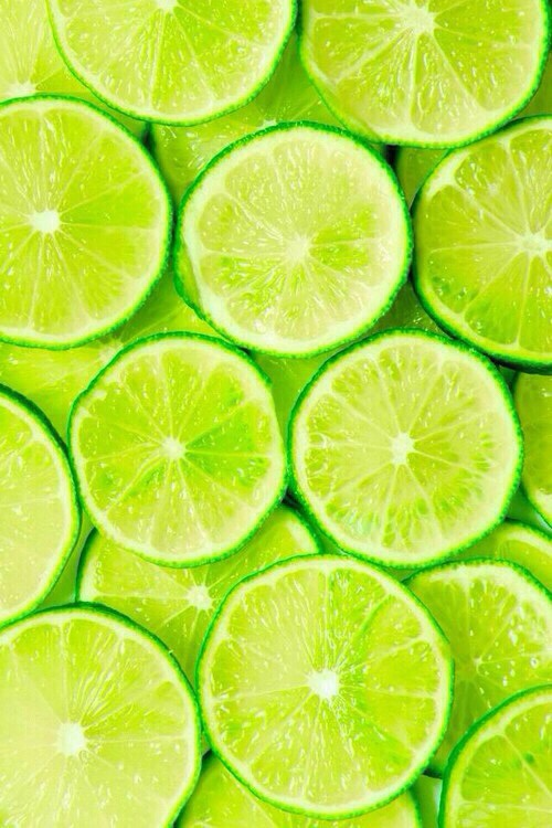 wallpaper background iphone android lime fruit sour yummy green pretty 500x750