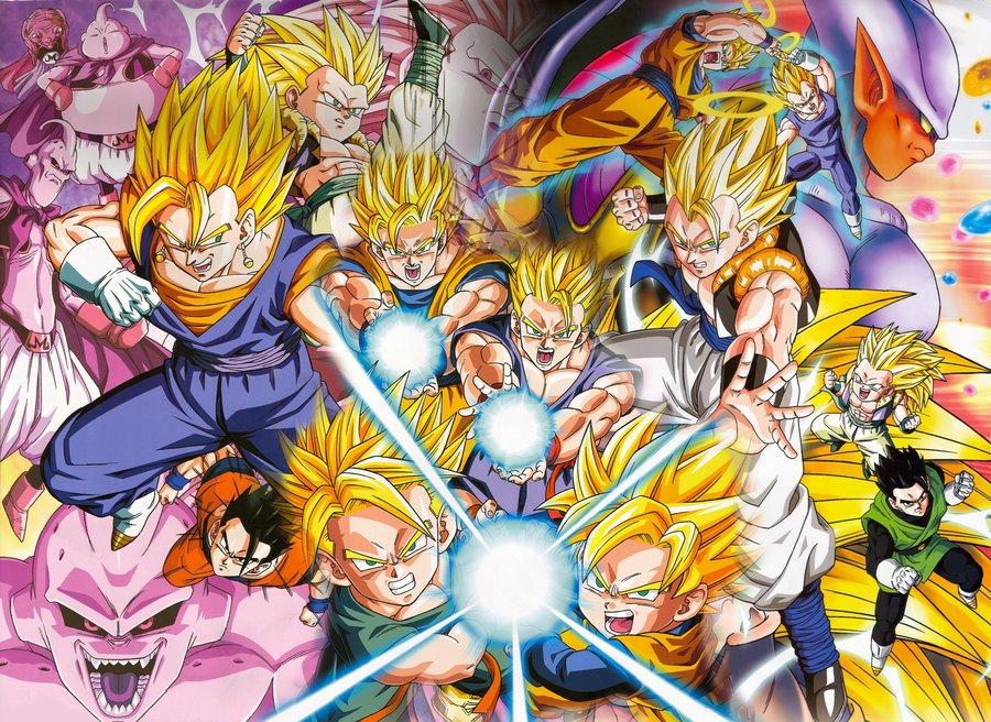 Download Goten Trunks Gohan Gotenks Dragonball Wallpaper 900x656