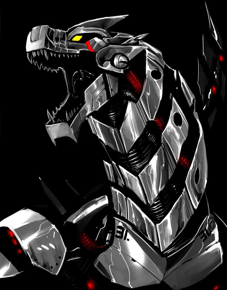 Mechagodzilla by TheRisingSoul 790x1011
