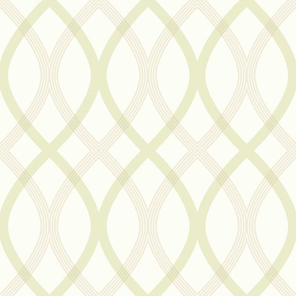 Contour Green Geometric Lattice Wallpaper Bolt contemporary wallpaper 600x600