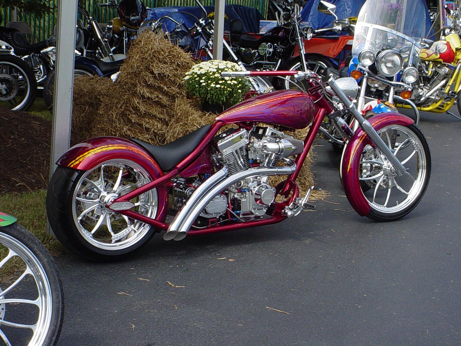 Chopper Custom Moto Wallpaper 1600x1200