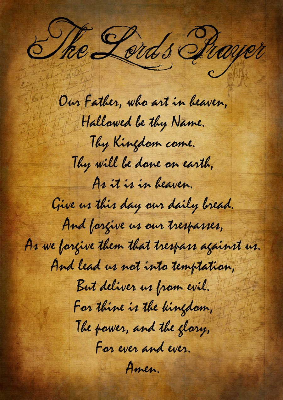 the lords prayer iphone - photo #13