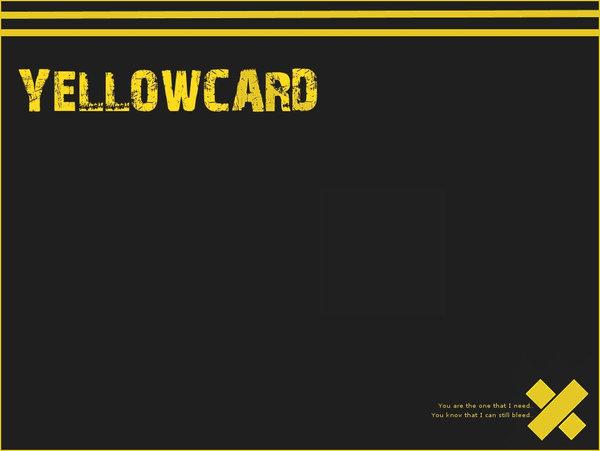 Yellowcard Wallpaper by SenVeBen 600x451