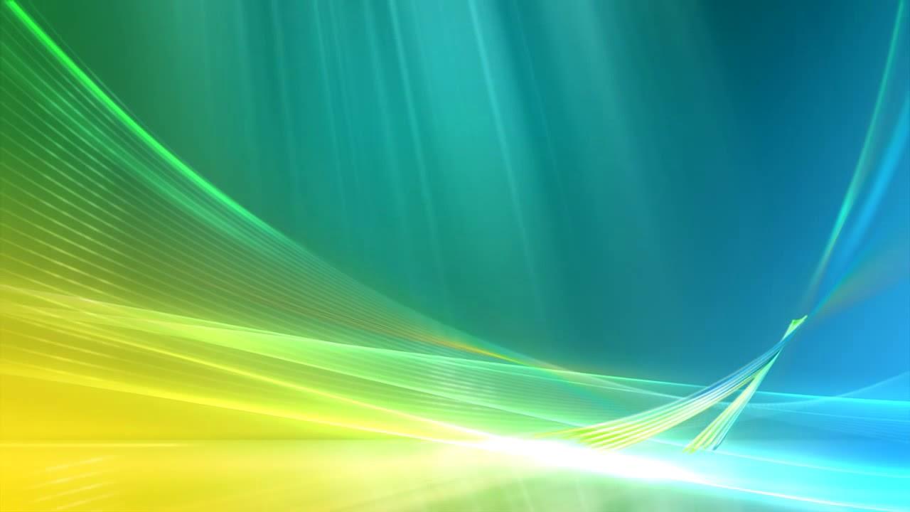 Windows Vista Aurora Background Animated 1280x720