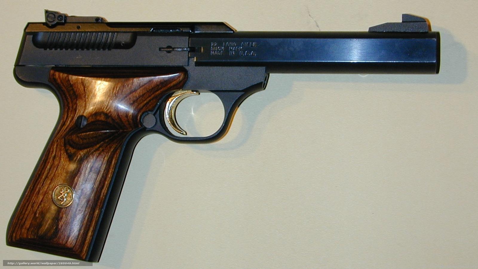 wallpaper browning buckmark weapon Fire gun desktop wallpaper 1600x900