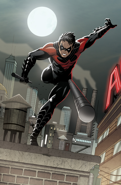 dcplanet New 52   Nightwing Illustration by 499x760