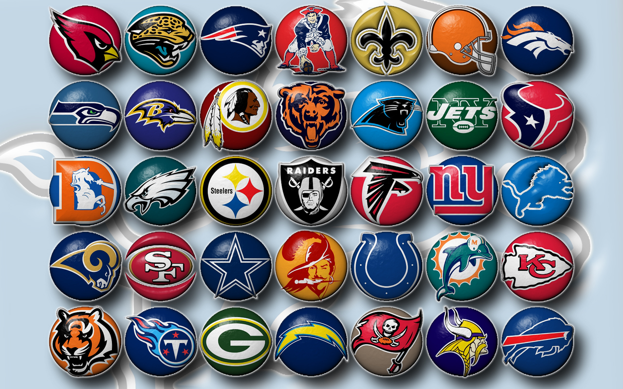 nfl team buttons nfl wallpaper share this nfl team wallpaper on 1280x800