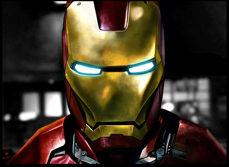 Epic Iron Man by HeroforPain 800x582