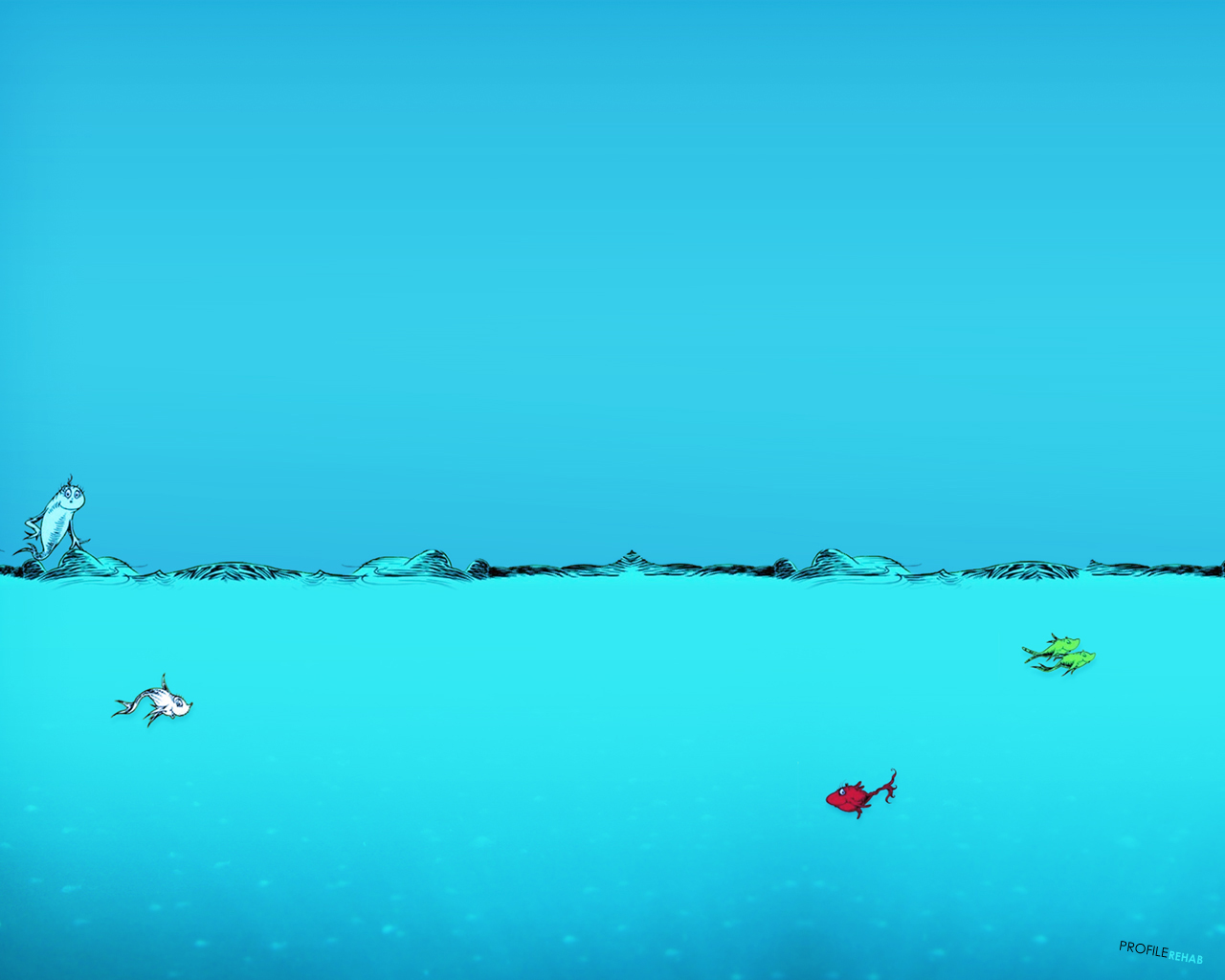 [1280x1024] New One Fish Two Fish Wallpaper   Best Dr 1280x1024