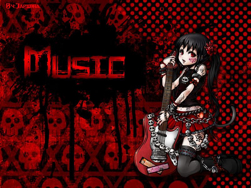 Music Rock Dark Wallpaper by LSTJapinha 800x600