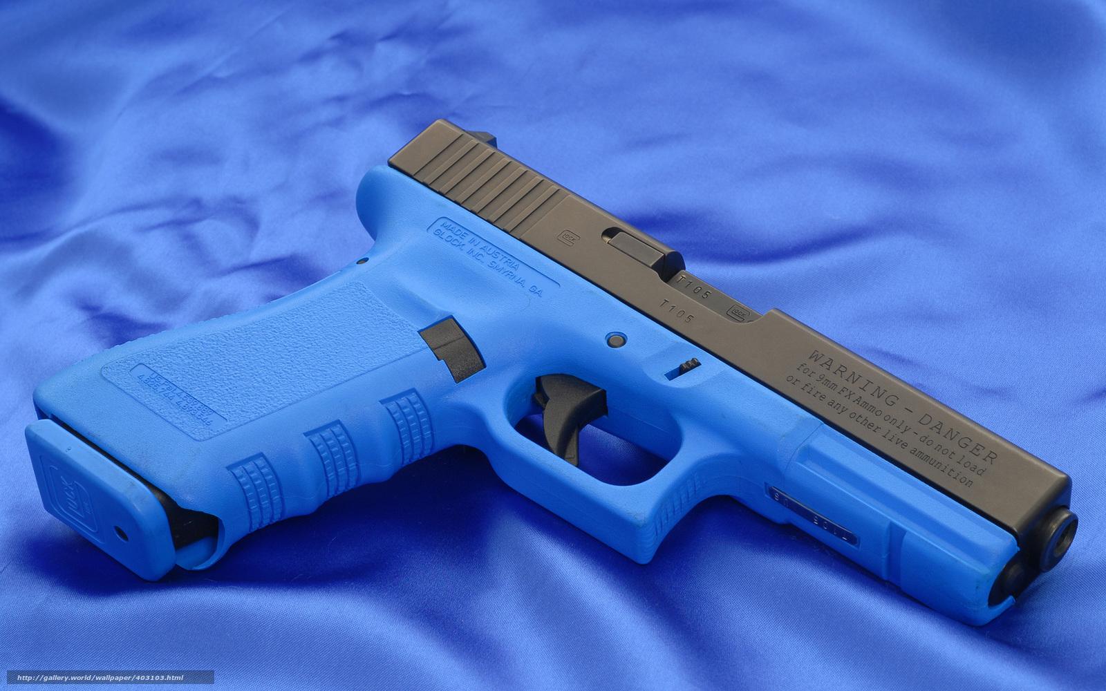 Wallpaper Glock Gun Weapon Desktop 1600x1000