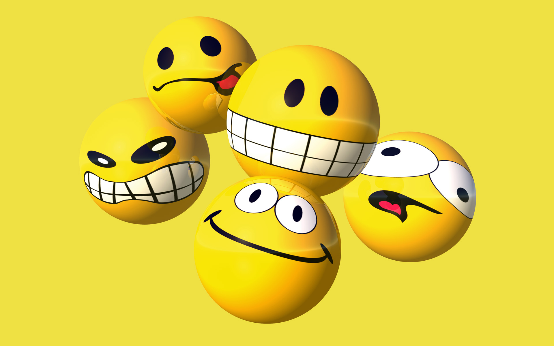 desktop themes attack gallery posted smiley 1920x1200