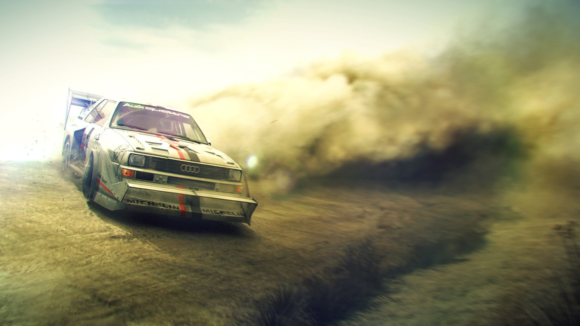 Audi Quattro rally cars Dirt 2 Wallpapers 1920x1080