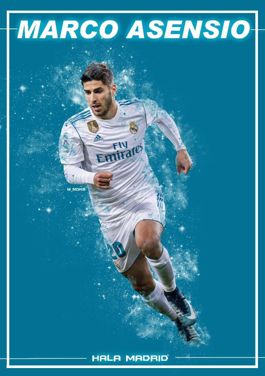 Download Marco Asensio Wallpaper by M MOHIB   03   on ZEDGE 904x1280
