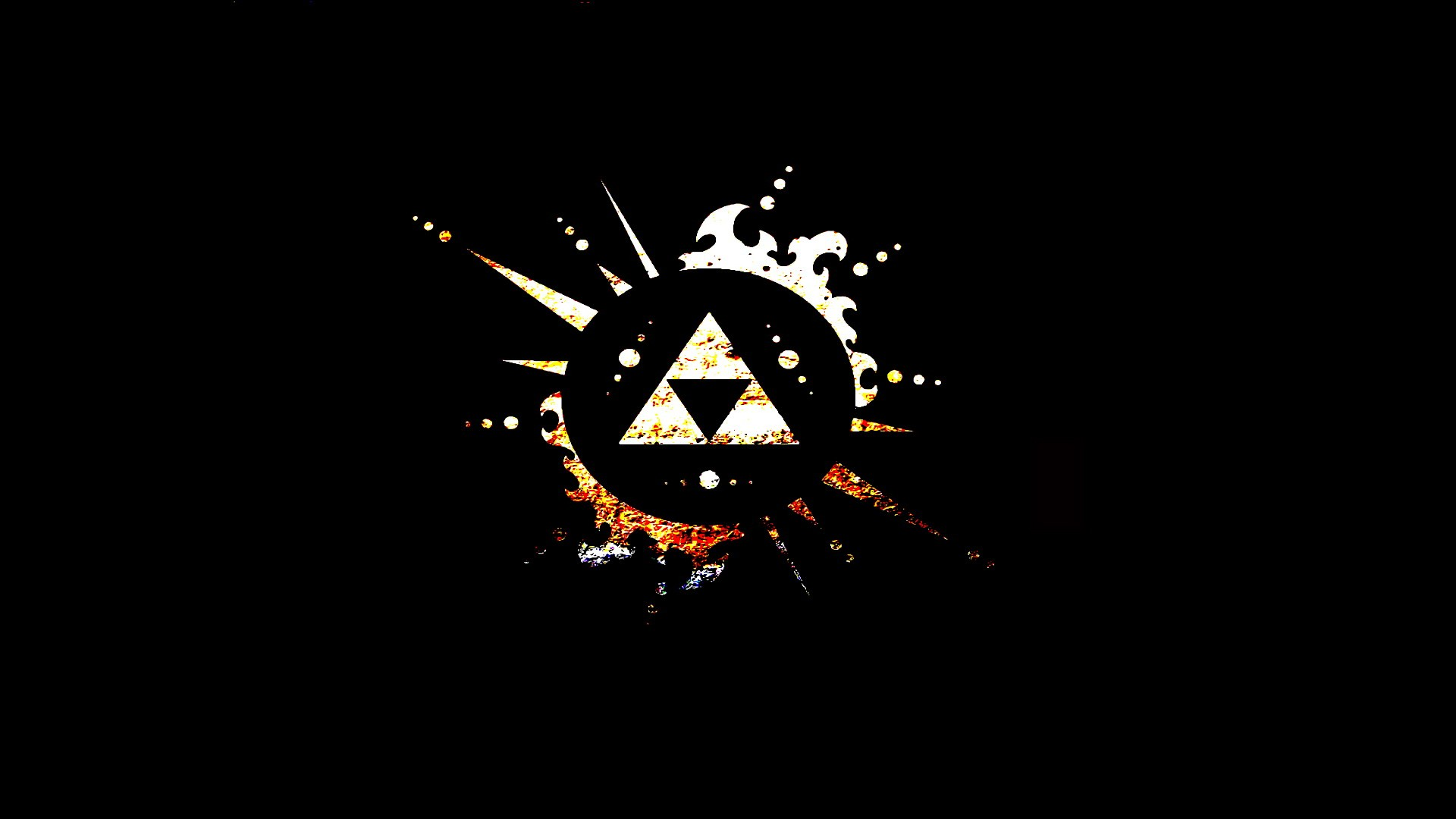Hd wallpaper zelda - Triforce The Wallpaper 1920x1080 Triforce The Legend Of Zelda
